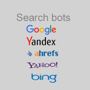 Боты поисковых систем в списке онлайн пользователей